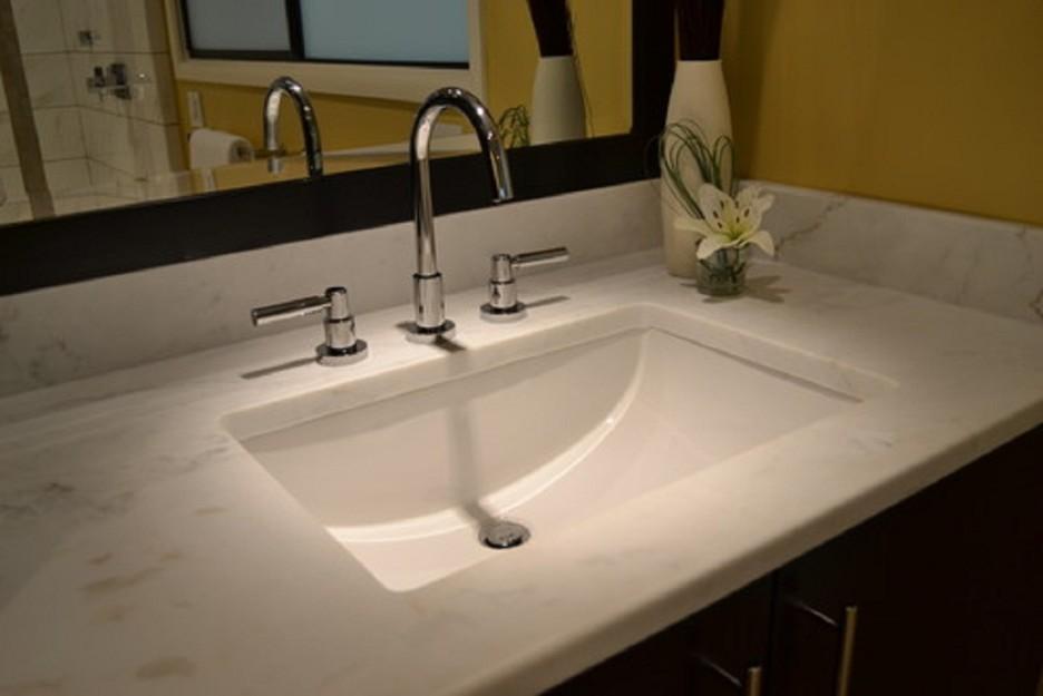 20 7 8 White Ceramic Porcelain Rectangular Shape Bathroomvanity Undermount Sink Ebay