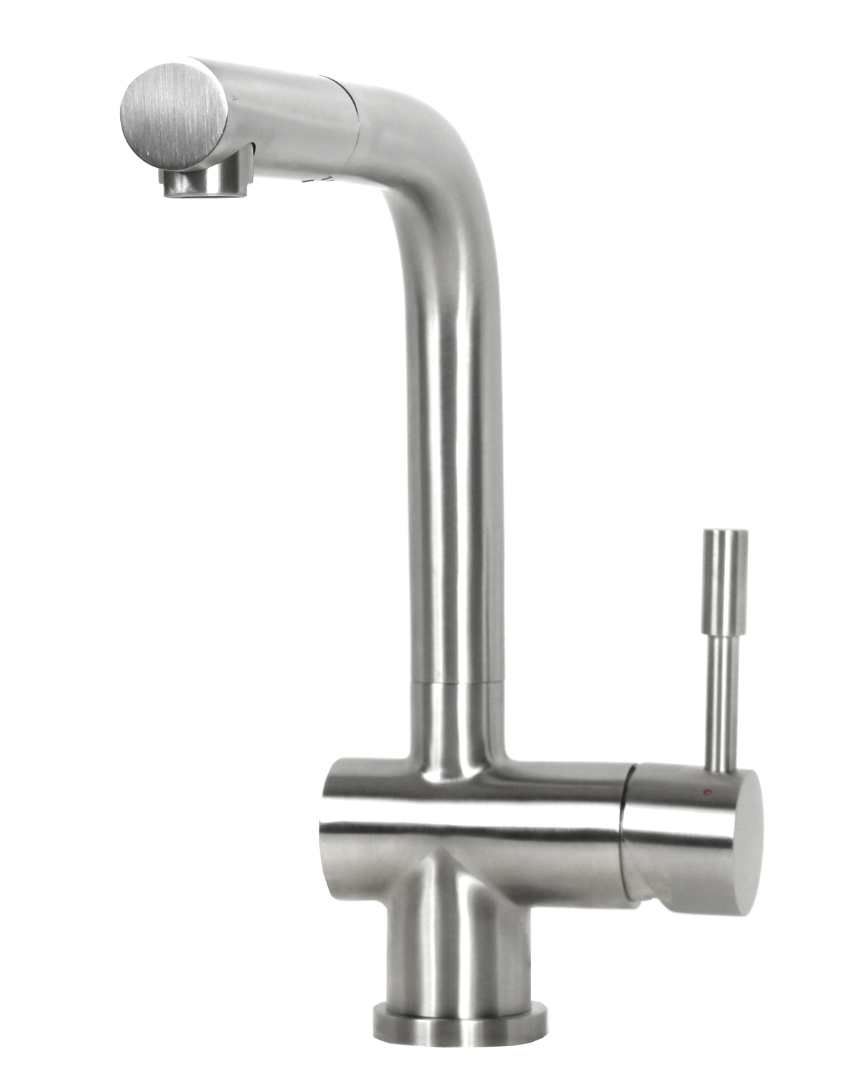 Details about Lead Free Solid 304 Stainless Steel European Style Pull Out  Kitchen Faucet