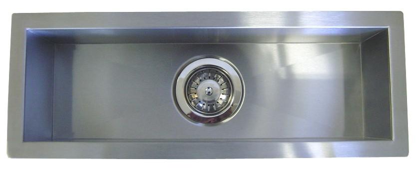 Greatest 42 Inch Stainless Steel Undermount Single Narrow Bowl Kitchen  FR89