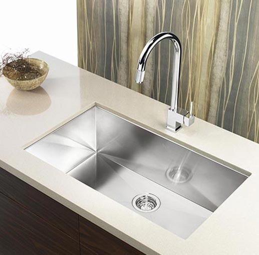 Details About 32 Stainless Steel Undermount 60 40 Double Bowl Zero Radius Kitchen Sink